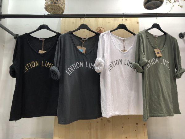 T shirt Edition Limitée